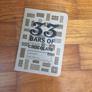 Mini logbook for Chocolate