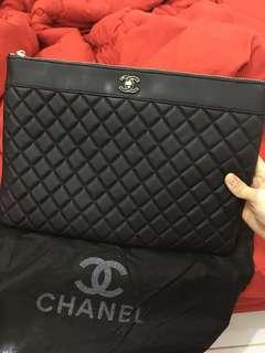 Chanel clutch semi premium authentic