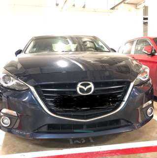 2015 Mazda 3 Stock/OEM Front Grill
