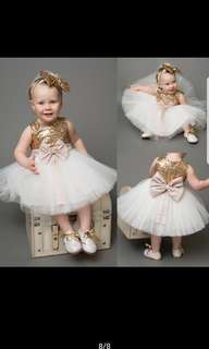 Sequins Gown for Kids