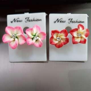 Ear Studs floral design