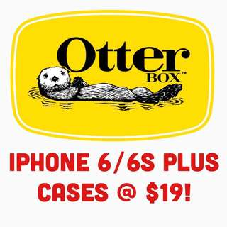 BN OtterBox iPhone 6 Plus Cases at $19!