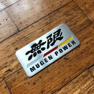 Mugen Power Emblem