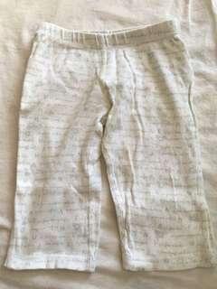 Burt's bees baby trouser