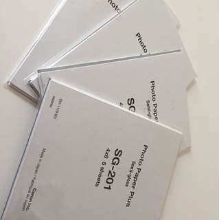 Canon Photo Paper Plus Semi-gloss SG-201