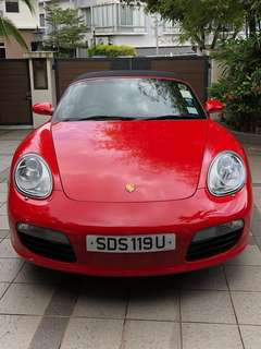 Porsche Boxster for rent