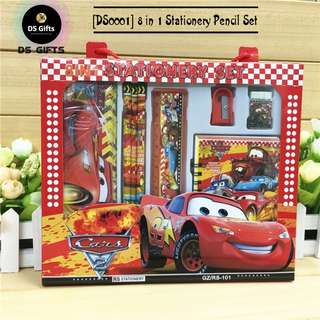 Cars - 8 in 1 Stationary Set