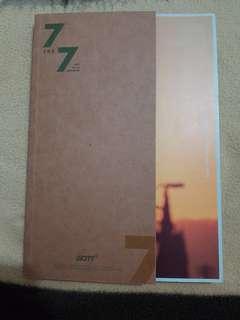 (GOT7)  7 FOR 7 ALBUM GOLDEN HOUR VER.