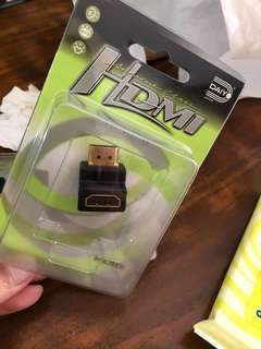 HDMI adapter 90°