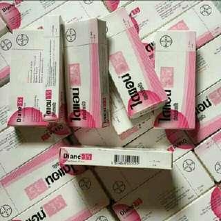 Authentic diane 35 anti aging anti acne