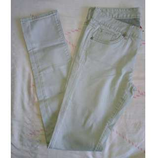 Uniqlo UJ Old-White Skinny Jeans