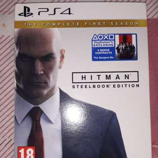 ps4 HITMAN the complete first season steelbook