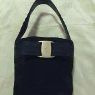 Auth Vintage Salvatore Ferragamo small handbag