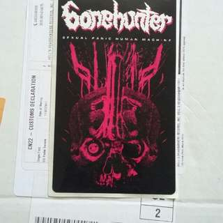 Bonehunter sticker