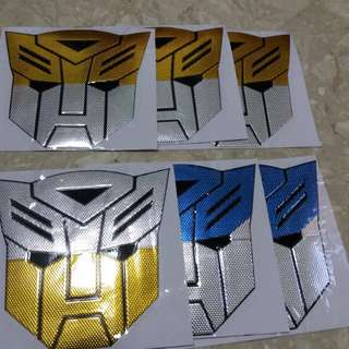 Transformers Stickers
