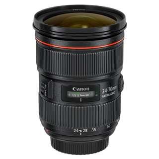 Canon 24-70mm f2.8 L II USM Lens *New*