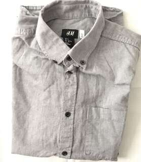 Charity Sale! Authentic H&M Mens Long Sleeve Shirt Size S