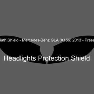 ORAGUARD Mercedes GLA Headlight Protection Film (Clear)