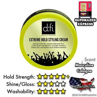 (Free mail) D:FI Extreme Hold Styling Cream