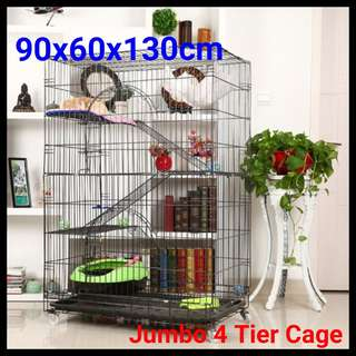 JUMBO cat cage 4 Tier cheapest and 24 hours Self Collect