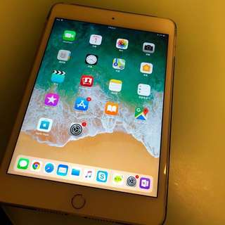 APPLE iPad Mini 4 64GB Gold WIFI