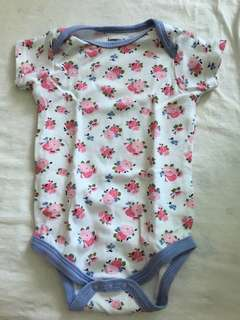 Luvable friends baby romper