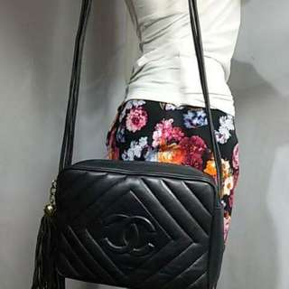Chanel Shoulder Bag Genuine Leather