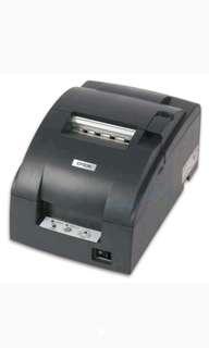 Kredit Printer Cash Register TM-220 Tanpa Kartu Kredit