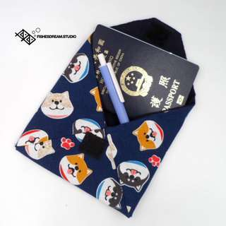 [Fishes' Dream] 布藝護照袋 布袋 Passport套 Handmade Fabric Passport Bag / Passport Cover