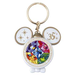 Tokyo Disneysea Disneyland Disney Resorts Sea Land 35th Anniversary Happiest Celebration Mickey Mouse Keychain Preorder