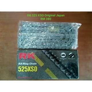 RK 525 XSO Original Japan