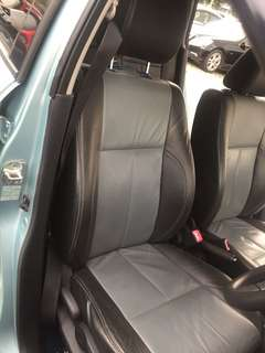 Suzuki swift leather seat front