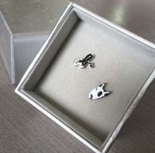 (NEW) Agnes b - Logo ab + doggy earring