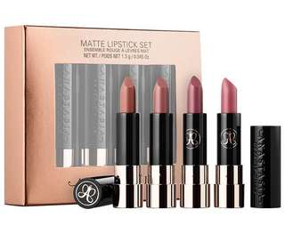 [Authentic] Anastasia Matte Lipstick Set - 4PC Mini Set