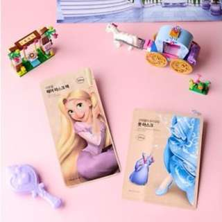 NEW! The Face Shop x Disney Cinderella's Glass Foot Mask (15g)