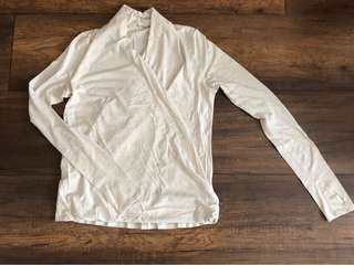 Lululemon long sleeve top size 8