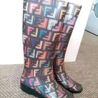 Fendi 長boot水靴