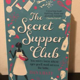 The secret supper club by dana bates