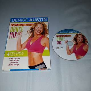 1 x original Fat Burning Dance Mix DVD with free normal postage