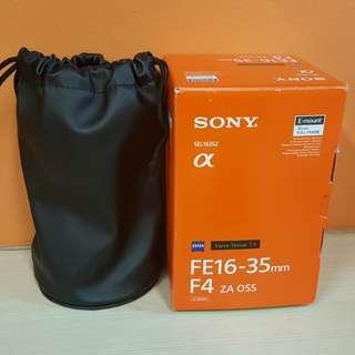 Sony FE Zeiss 16-35mm F4 T*