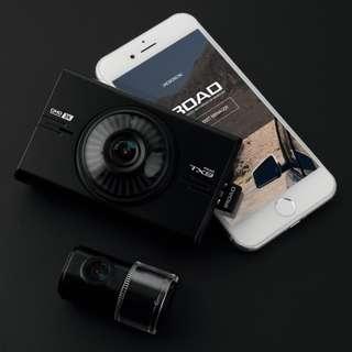 iRoad TX9 3K超高清 前後鏡 前3K/後1080 行車記錄儀 (香港行貨,韓國製造)