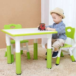 Children Adjustable Table & Chair