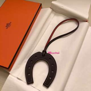 Hermes Paddock Charm Bi-Color