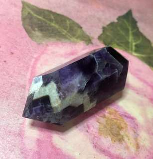 Double Terminated Amethyst Crystal