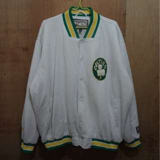 *SALE* VINTAGE NBA BOSTON CELTICS VARSITY JACKET - XXL