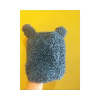 熊仔耳朵針織帽
