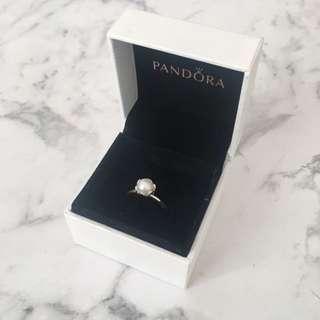 Pandora Fresh Water Pearl Ring