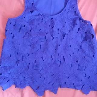 Charlotte Russe Blue Top