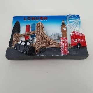 London Fridge Magnet Brand New