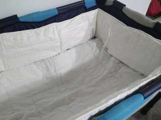 Cushion baby crib bumper